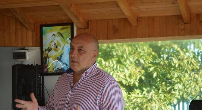 """Кандидатът за кмет на район """"Надежда"""" Димитър Димов се срещна"""