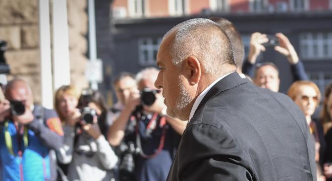 Премиерът Бойко Борисовкоментира подадената оставка от президента на Българския футболен