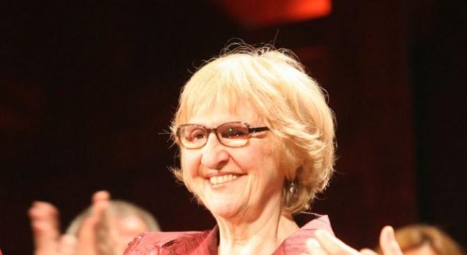 Популярната и обичана наша театрална преподавателка на няколко поколения актьори