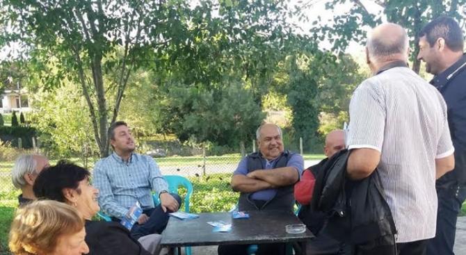 Кандидатът за кмет на Царево Георги Лапчев проведе срещи с жители на селата Велика, Фазаново, Българи и Кондолово