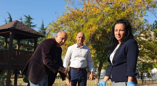 По инициатива на кандидата на ГЕРБ за кмет на пловдивския