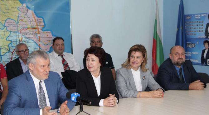 """""""Нека още на първи тур изберем Вяра Церосвка за кмет"""