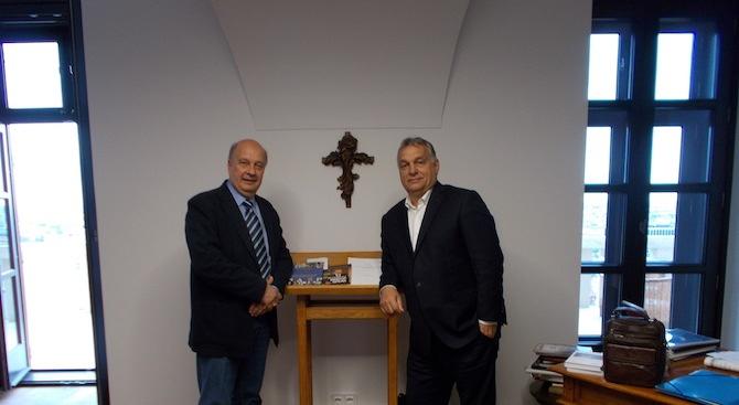 Народният представител Георги Марков се срещна днес в Будапеща с