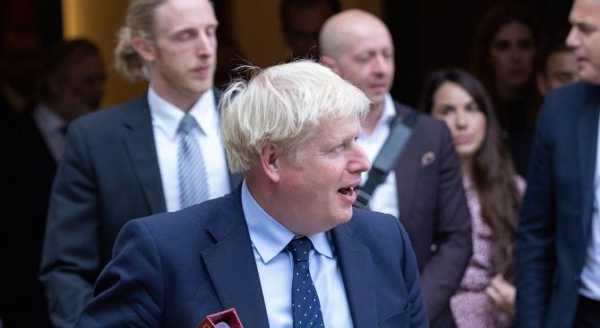 Британският премиер Борис Джонсън е казал на своите водещи министри,