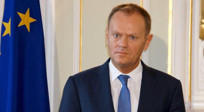 Председателят на Европейския съвет Доналд Туск призова опозиционните партии в