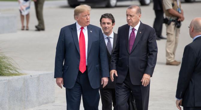 Няколко дни след като президентът Доналд Тръмп нареди американските войски