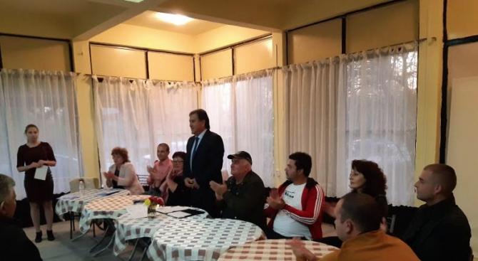 Кандидатът на ГЕРБ за кмет на община Съединение Атанас Балкански,
