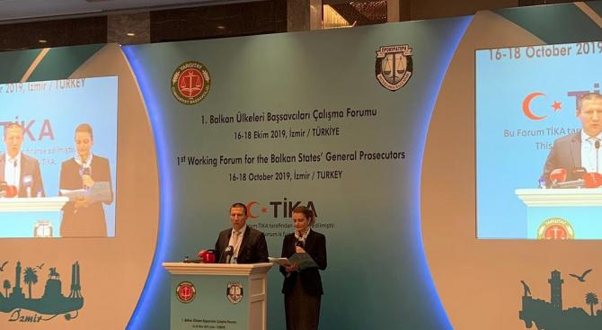 Работен форум на Главните прокурори на Балканските държави се открива в Измир