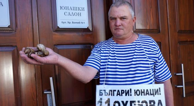 11 охлюва футболисти е подготвил председателят на българските мъже Росен