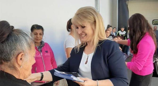 Инж. Детелина Борисова ще продължи проекта за саниране на многофамилните