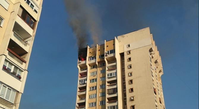 "Трима пострадаха при пожар в жилище в квартал ""Сердика"""