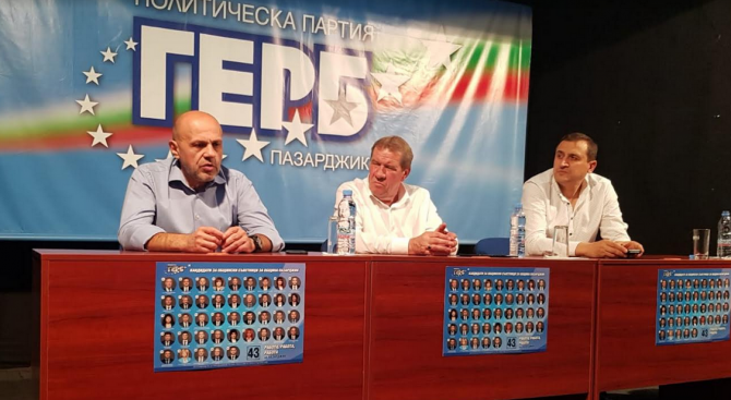Вицепремиерът Томислав Дончев се запозна с проекта за ремонт на