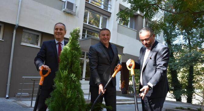 Д-р Атанас Камбитов, кандидат-кмет от ГЕРБ за Благоевград присъства на