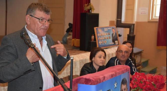 Кандидатът на ГЕРБ за кмет на Брезово Христо Енков се срещна с жителите на село Свежен