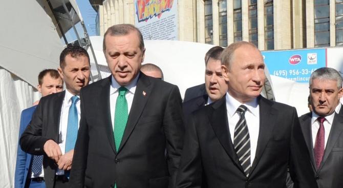 Снимка: Реджеп Ердоган разкри за какво ще си говори с Владимир Путин в Сочи