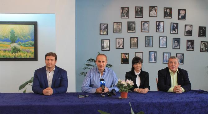 Снимка: Петър Паунов: Приоритетите в нашата програма имат една обща цел – модерна и здравословна среда за всеки кюстендилец