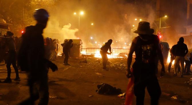 Протести в Каталуния: Стотици са ранени