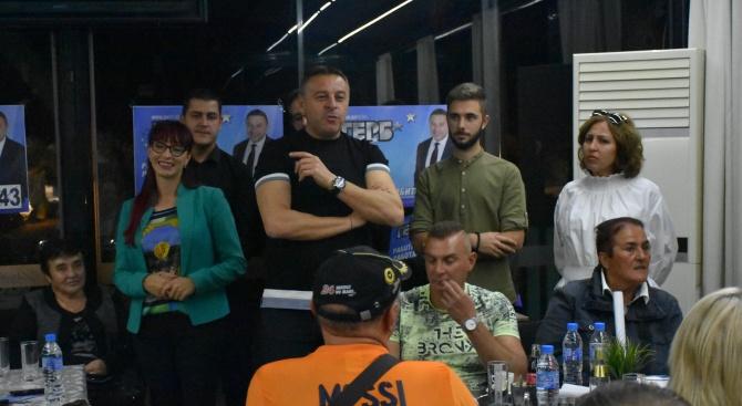 Кандидатът на ГЕРБ за кмет на Благоевград д-р Атанас Камбитов