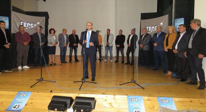 Снимка: Димитър Германов: Промяната в Приморско ще продължи с реализиране на проекта за пристанището