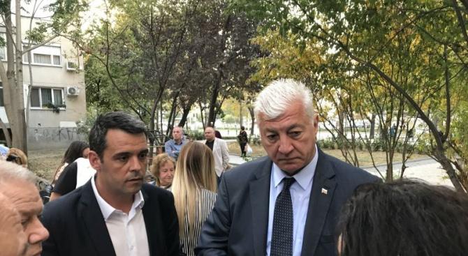 Кандидатите на ГЕРБ за кмет на Пловдив Здравко Димитров и