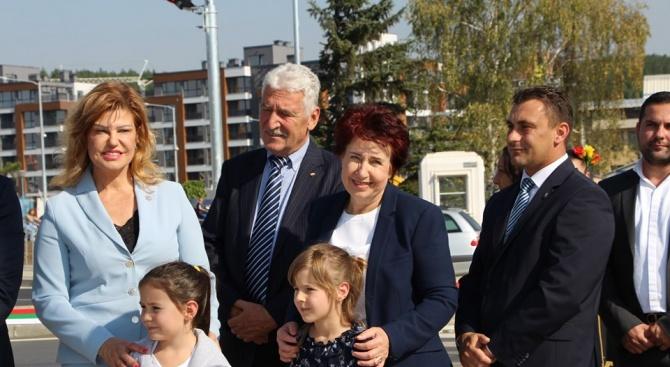 В деня на град Перник официално беше открито новоизграденото кръгово
