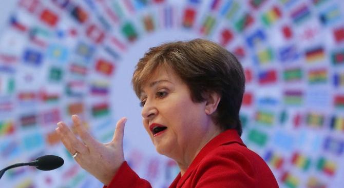 Управляващият директор на Международния валутен фонд (МВФ) Кристалина Георгиева каза