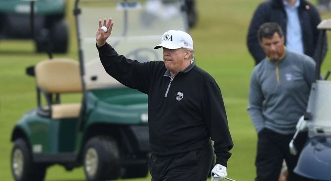 Снимка: Тръмп се отказа от идеята да бъде домакин на срещата на върха на Г-7 през 2020 г. в голфклуба си във Флорида