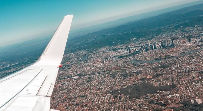 """Австралийският авиопревозвач """"Куонтас"""" (Qantas) извърши най-дългия полет на пътнически самолет"""
