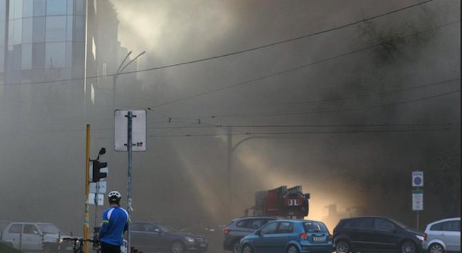 Все още не са ясни причините за пожара, избухнал вчера