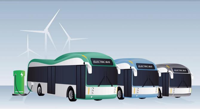 Нови 56 електробуса последно поколение ще попълнят редиците на градския