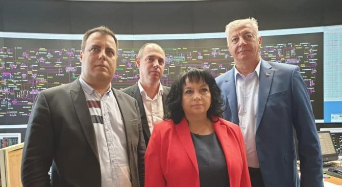 Министърът на енергетиката Теменужка Петкова се запозна в Пловдив с