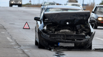 18-годишен причинил катастрофата край Казанлък, бил пиян