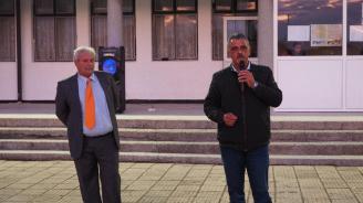 Кандидатът за кмет на община Марица Димитър Иванов в с. Ясно поле: Даваме само обещания, които можем да изпълним