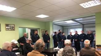 Кандидатът на ГЕРБ за кмет на Раковски Павел Гуджеров се срещна с пенсионери в Белозем