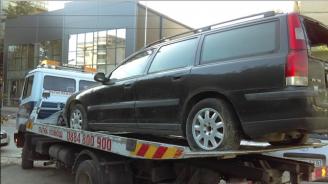 Община Велико Търново премахна още два автомобила, излезли от употреба