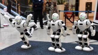 Роботи превзеха мол Serdika Center