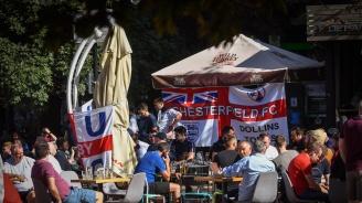 Английски фенове окупираха столичните заведения, засилени мерки за сигурност в центъра на София