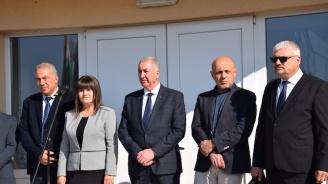 Огнян Ценков присъства на официалната церемония по откриване на Пречиствателната станция във Видин