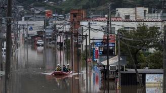 70 станаха жертвите на тайфуна Хагибис в Япония