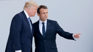 Макрон е изтъкнал пред Тръмп необходимостта да не се допуска възход на Ислямска Държава