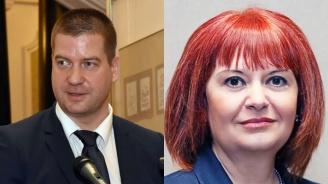 Живко Тодоров от ГЕРБ и Гергана Микова от НФСБ в дебат за кметското място на Стара Загора
