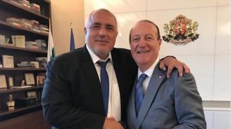 Бойко Борисов: Проведох ползотворна среща с почетния ни консул в Израел Мони Бар