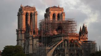 """Шест месеца след пожара на катедралата """"Нотр дам"""", 104 милиона евро вече са преведени"""