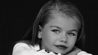 6-годишен модел бе обявен за най-красивото момиче на света