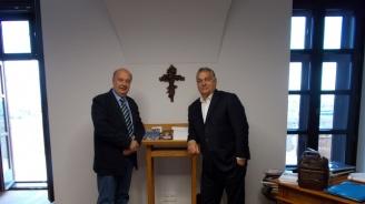 Георги Марков се срещна в Будапеща с премиера на Унгария Виктор Орбан