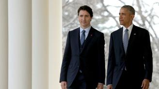 Барак Обама призова канадците да подкрепят премиера си Джъстин Трюдо на изборите