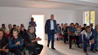 Кандидатът за кмет на Община Видин от ПП ГЕРБ Огнян Ценков към жителите на Новоселци: Важни са вашата оценка и вашето доверие