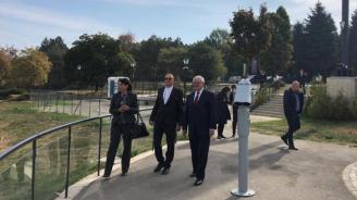 Кандидатът на ГЕРБ за кмет на Русе Диана Иванова се срещна с предприемача Игнат Канев и с министъра на здравеопазването Кирил Ананиев