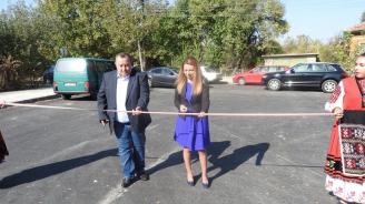 Кандидатът за кмет на община Кула от ГЕРБ Владимир Владимиров присъства на официалното откриване на ремонтирани пътни участъци в oбщината