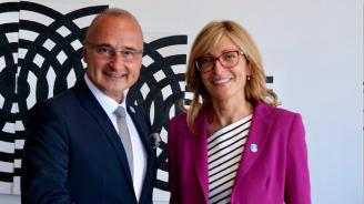 Започна официалното посещение на вицепремиера Екатерина Захариева в Република Хърватия